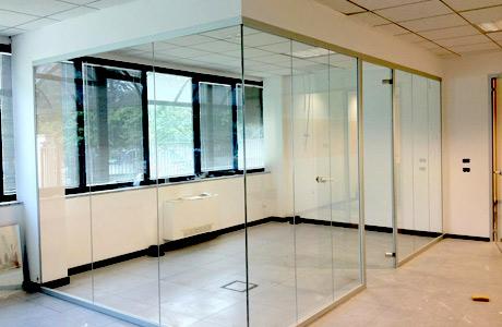 Ufficio In Cartongesso : Lineaufficio arredamento per uffici pareti divisorie opere in